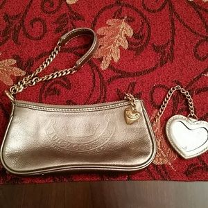 Authentic Gold Juicy Couture Coin Purse
